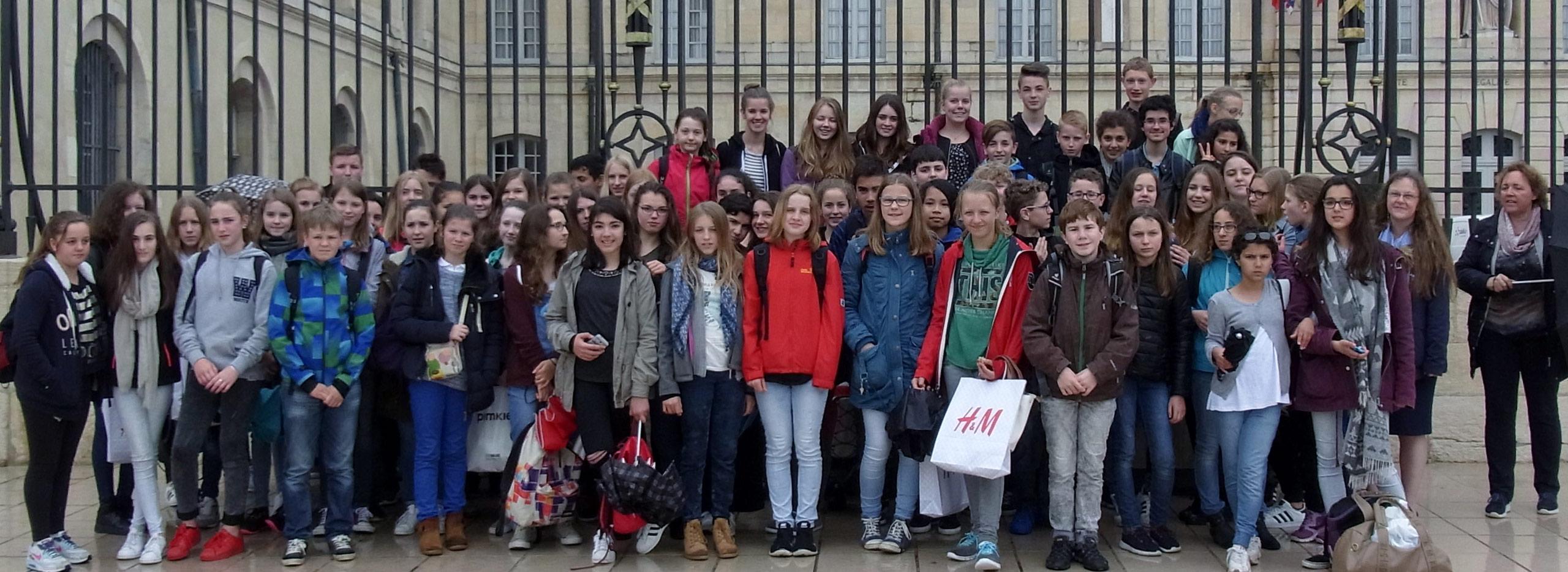 Schüleraustausch Cochem Avallon 2016